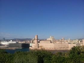Le Mucem vu depuis le Pharo - Marseille 7e