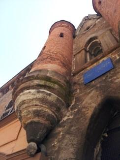 Maison Albert Londres - détail tourelle gauche