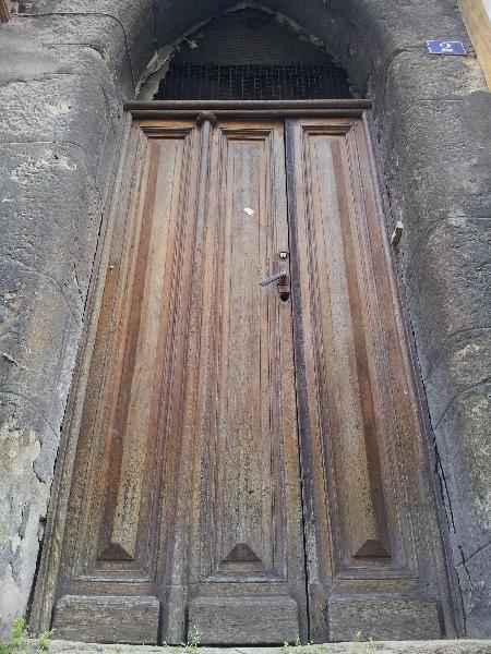 Maison Albert Londres - Porte de la maison Baratier