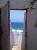 Porte sur la Méditerrannée à Ain El Turck (2011)