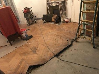Travaux de rénovation