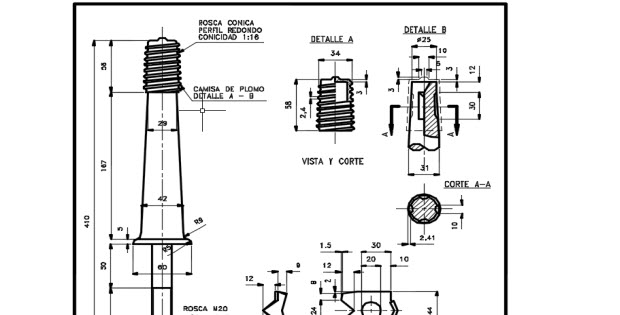 Bolts for insulators mt in AUTOCAD Free Dwg » CADSample.Com
