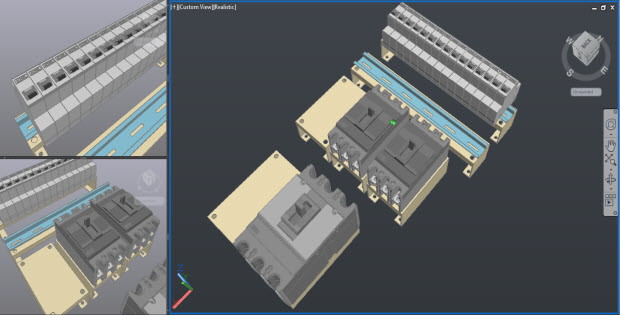 Detail cover panel 3d in AUTOCAD Free Dwg  CADSampleCom