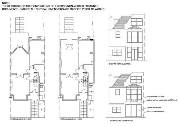 CAD drawing service, planning application or CAD conversion