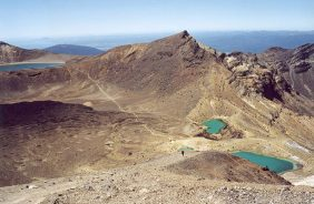 Tongariro Alpine Crossing, Nieuw-Zeeland