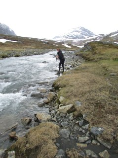 Kungsleden river