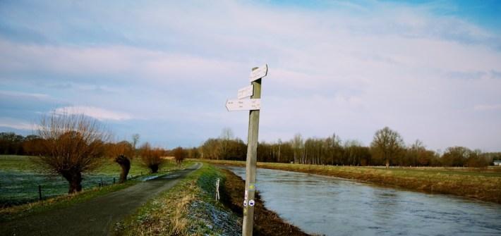 GR 128 Vlaanderenroute Wandelboom