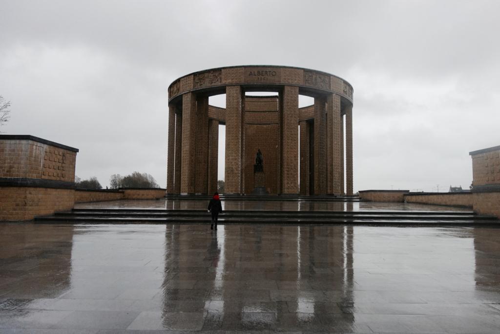 Albert I monument Nieuwpoort