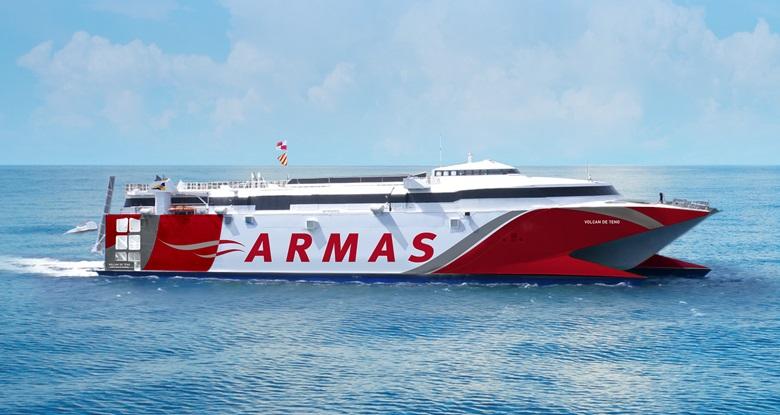ferry Canarische eilanden