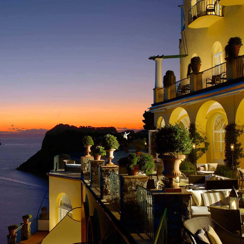 Restaurant La Terrazza di Lucullo  Caesar Augustus Capri