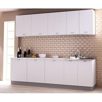 meuble haut de cuisine 40x35xh70 cm en bois blanc mat