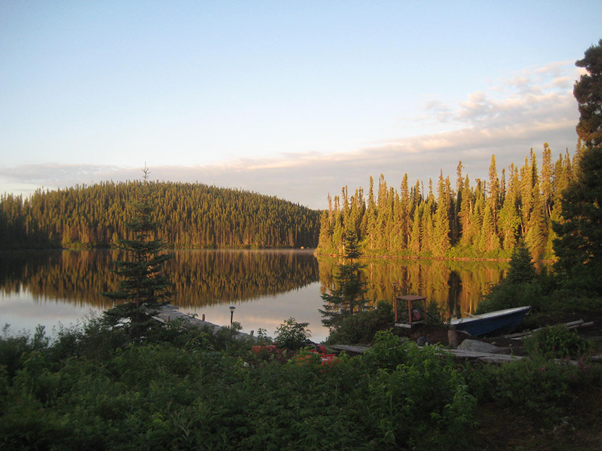 Walleye and Pike fishing on Impossible Lake  Caesars