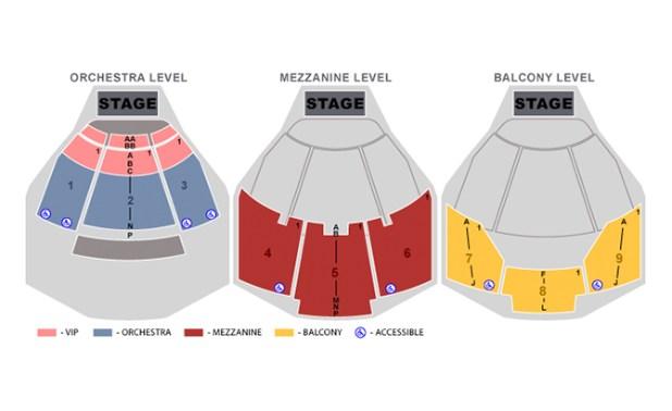 Penn Teller Theater At Rio Las Vegas Seating Chart