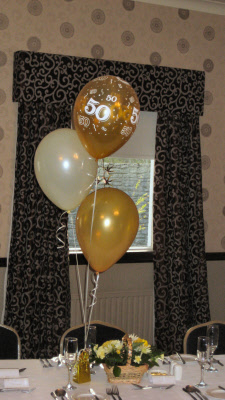 Anniversary Balloon Decorations Amp Partyware