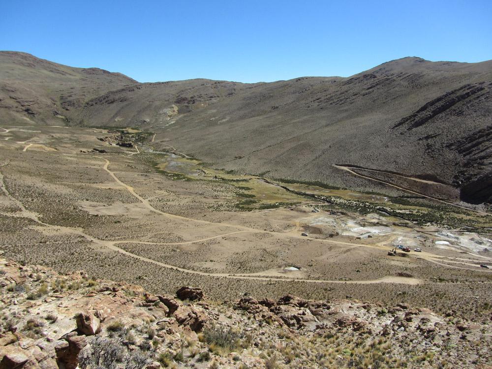 Chinchillas - Panorama Silver Mantos to Socavon