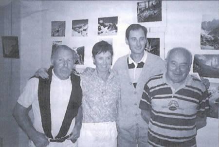 Photo des présidents historique du club alpin de Bagnères-de-Bigorre