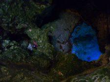 Tout au fond c'est le lagon bleu