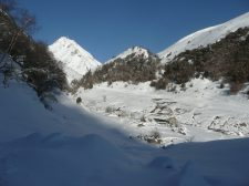 Pic du Midi depuis les cabanes de Tramazaygues (1)