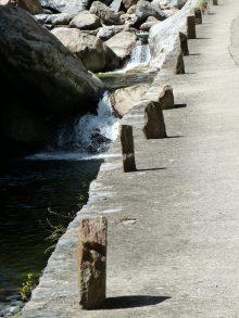 La route des gorges d'Héric