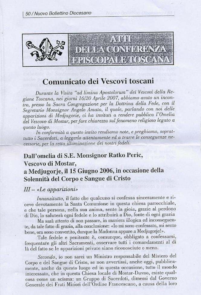 Bollettino Diocesano della CET