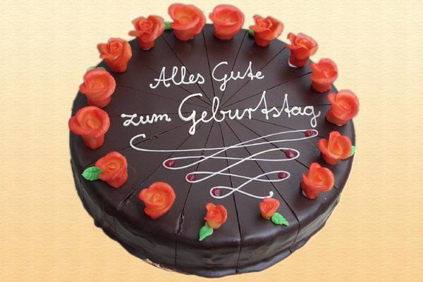 Geburtstagstorten  Konditorei  Bckerei  Caf Bauer Erfurt
