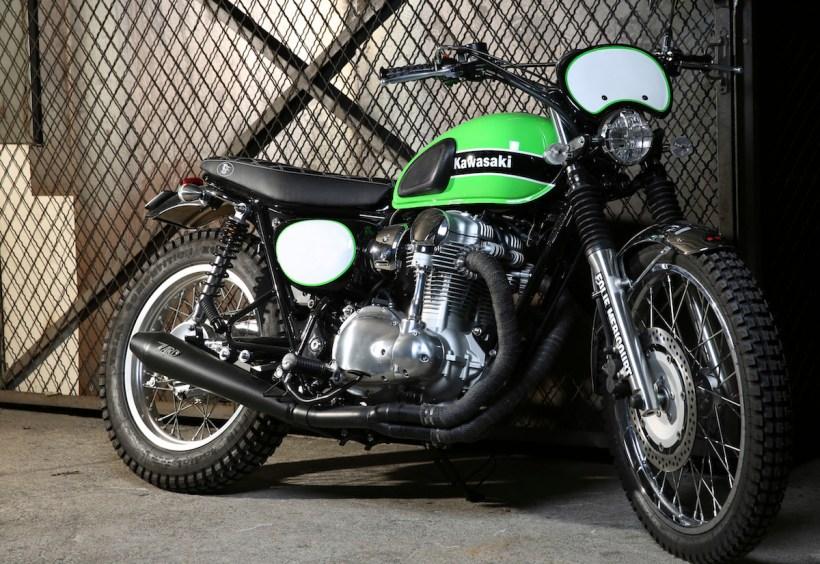 Kawasaki Scrambler Kayamotorco
