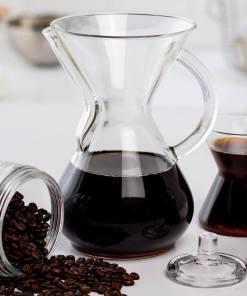 Cafetera Chemex para 6 tazas con mango de vidrio