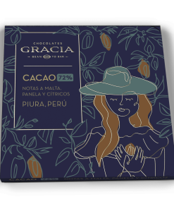 Barra 72% Cacao - Chocolates Gracia