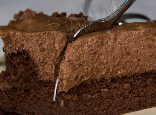 Ciasto czekoladowe z musem czekoladowym