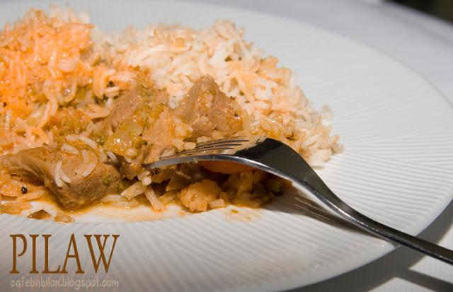 Pilaw - danie z ryżem