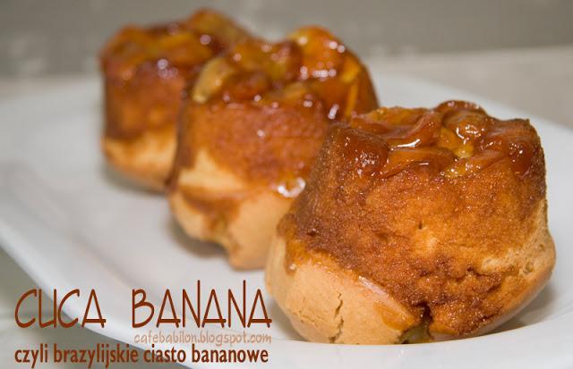 brazylijskie ciasto bananowe