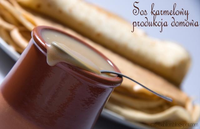 Domowy sos karmelowy