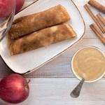 Naleśniki z kremem jabłkowym