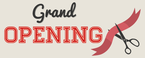 Grand Opening Text Cafe Barbera