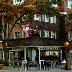 Sinterklaas in café Blek