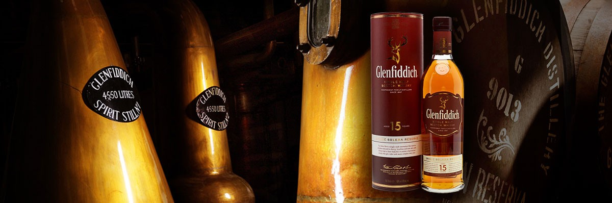 Glenfididich 15 Years 40 %