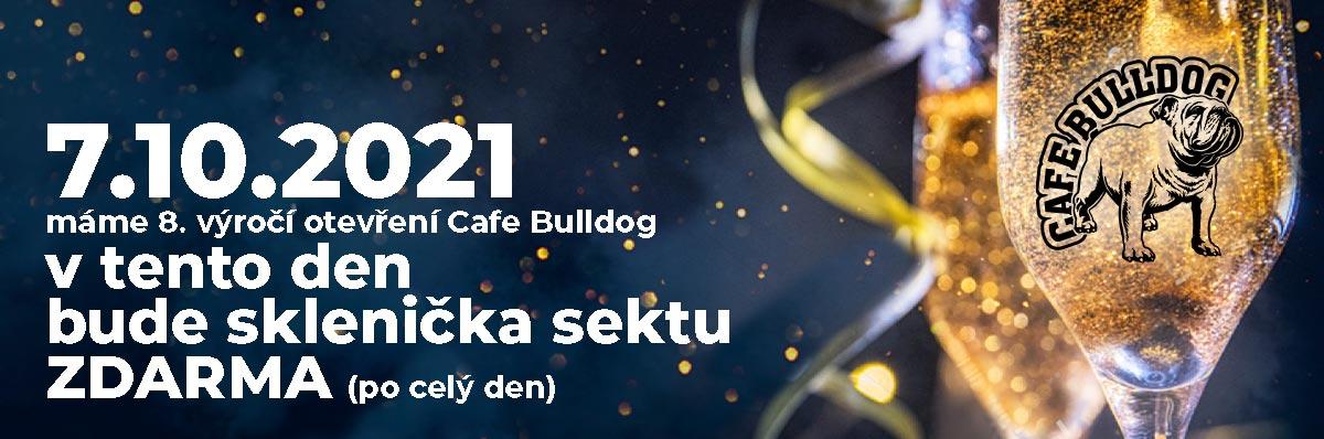 Cafe Bulldog 8. výročí