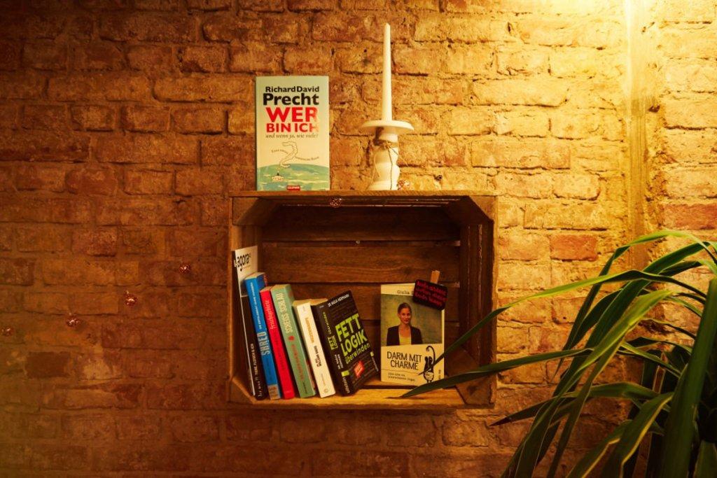 Bücher Ernährung Café der Fragen Berlin