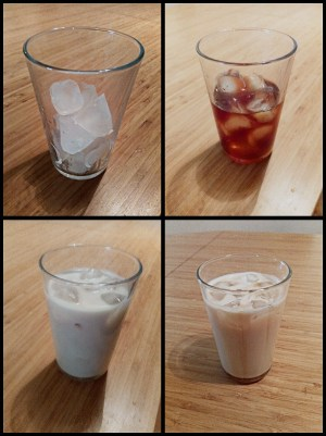 Recette latte gourmand