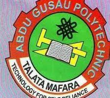 Abdul Gusau Polytechnic POST UTME SCREENING FORM