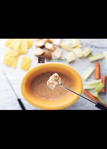 image of pizza fondue