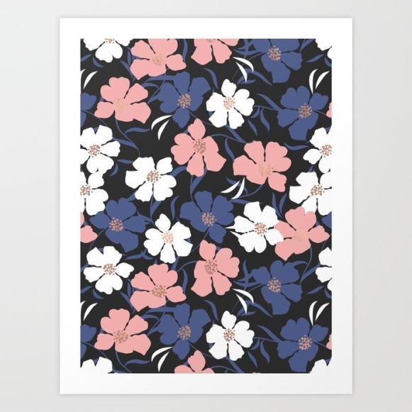 Spring Peony Pattern