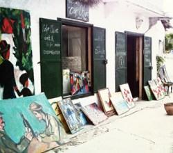 Cafe Olive Sanat Galerisi Didim Akköyde