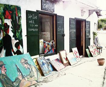 Cafe Olive Sanat Galerisi Didim