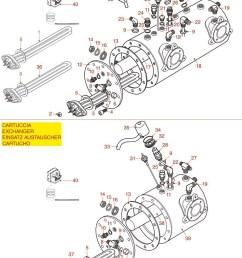 espresso machine parts astoria rio cma boiler with  [ 769 x 1075 Pixel ]