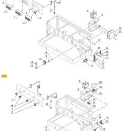 espresso machine parts gaggia e90 d90 electrical system  [ 769 x 1075 Pixel ]