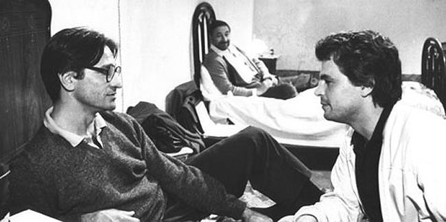 Un'inquadratura del film Tre fratelli, capolavoro assoluto di Francesco Rosi