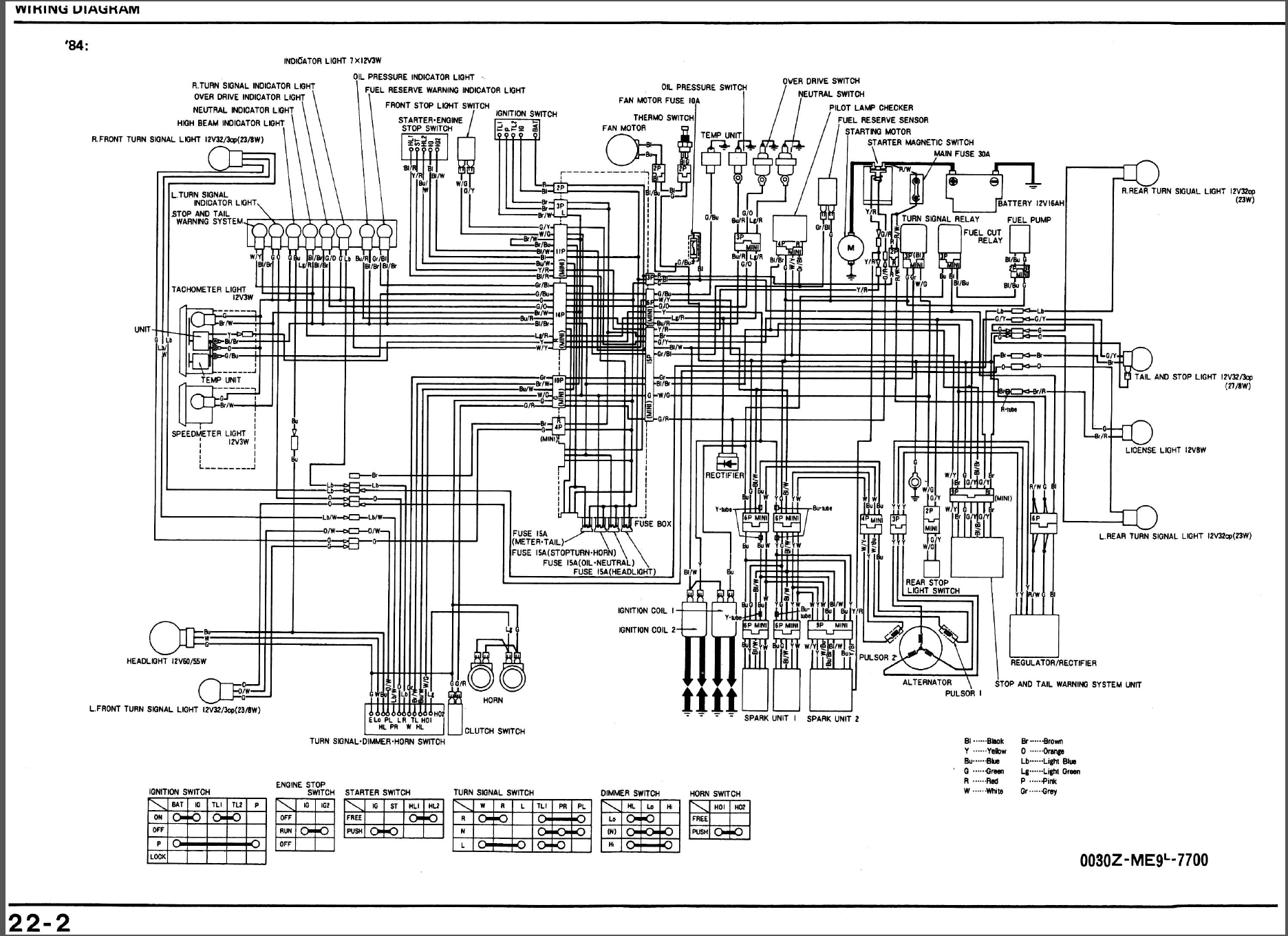 1984 Honda Shadow Vt700 Wiring Diagram : 38 Wiring Diagram