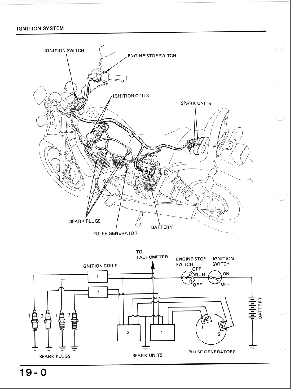 File: 1984 Honda Shadow Wiring Diagram