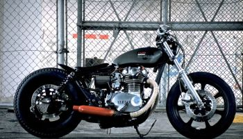 Yamaha XS650 Bobber Balle by An-Bu Custom Motors